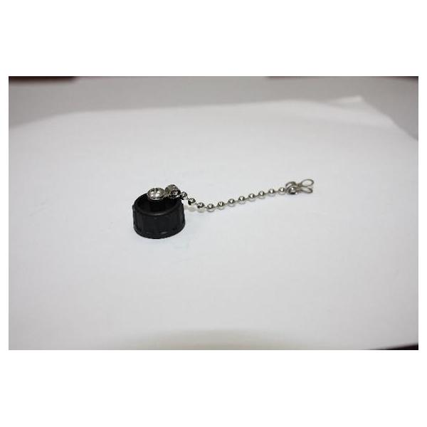 Cap Plastic For C2 Screw Panel With Metal Chain (M3 Screw)