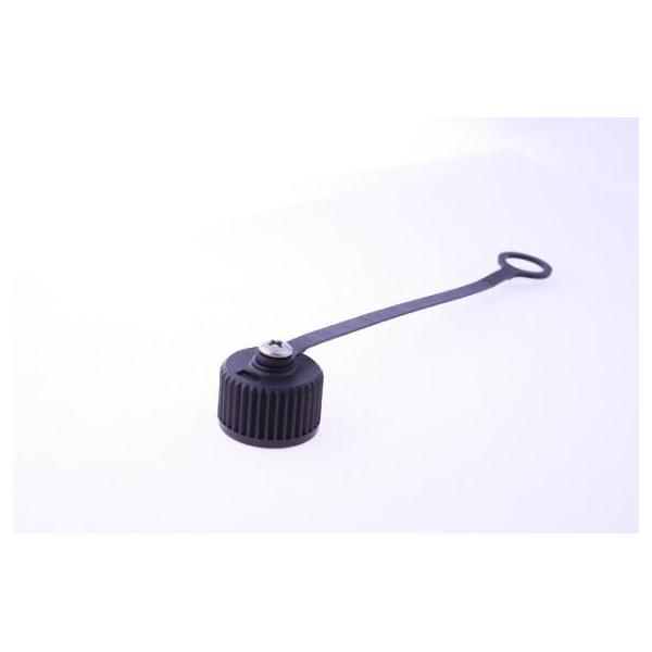 Cap Plastic For M12 Male End With Plastic Chain