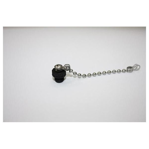 Cap Plastic For M8 Female End With Metal Chain