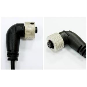 Circular C1 Metal 2A Lock Cable end Female 90°