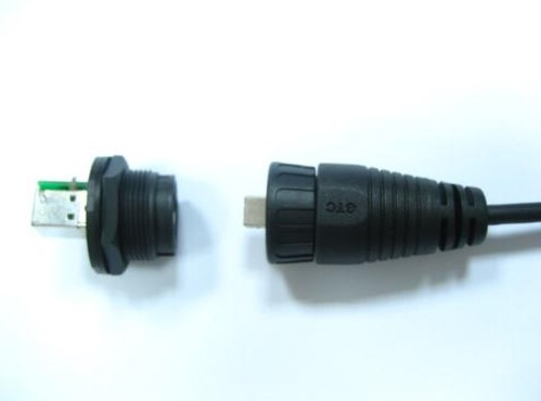 USB-B Series Plastic C4 Lock Type