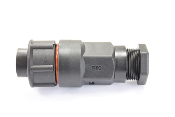 Hybrid C3 25A+1A 2P+3P Field Installable Cable End Male Crimp Lock