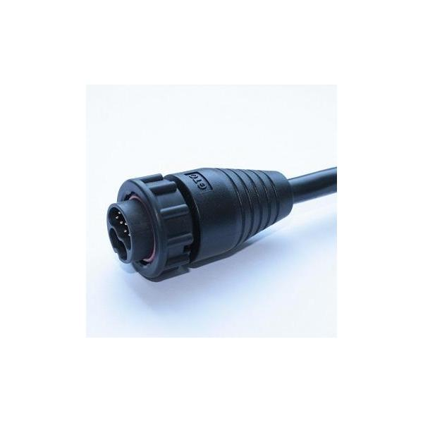 Hybrid C4 25A+5A 2P+10P Cable End Male Lock (Code A)