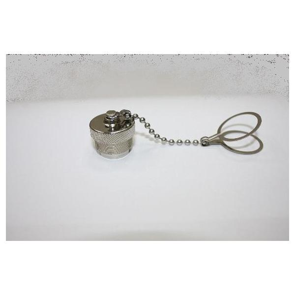 Cap Metal For RJ45 C3 Screw Cable End With Metal Chain