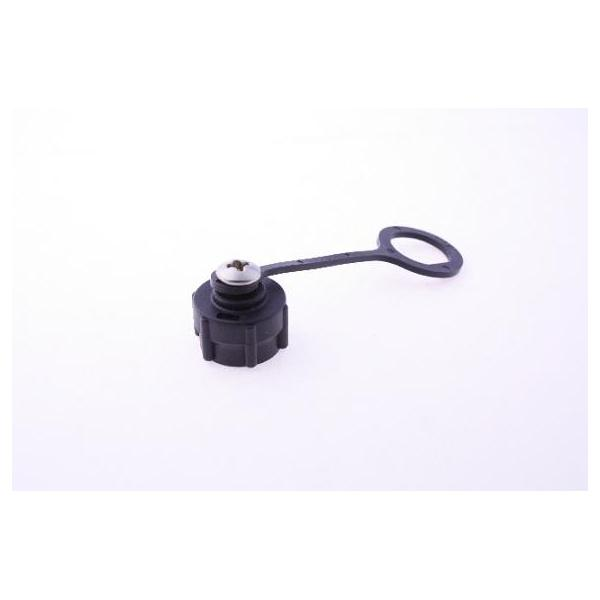 Cap Plastic For C1 Screw Panel With Rubber Chain