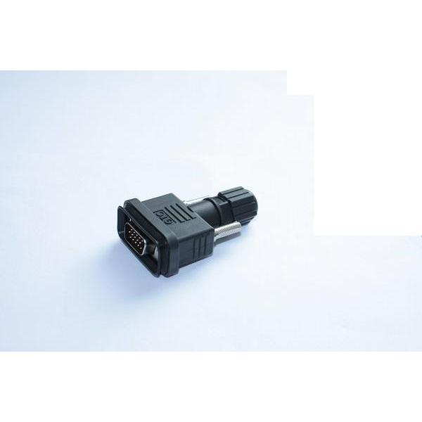 D-SUB Connector-HD 15P Cable End (Field Installable Type)