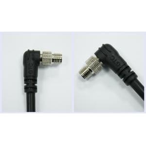 Sensor M8 B-coding 3A Cable end 90° Male