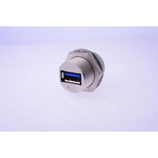 USB-A 3.0 Metal C3 Panel Jack Screw Dip