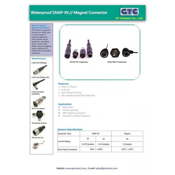 GTC SNAP-IN & Magnet DM