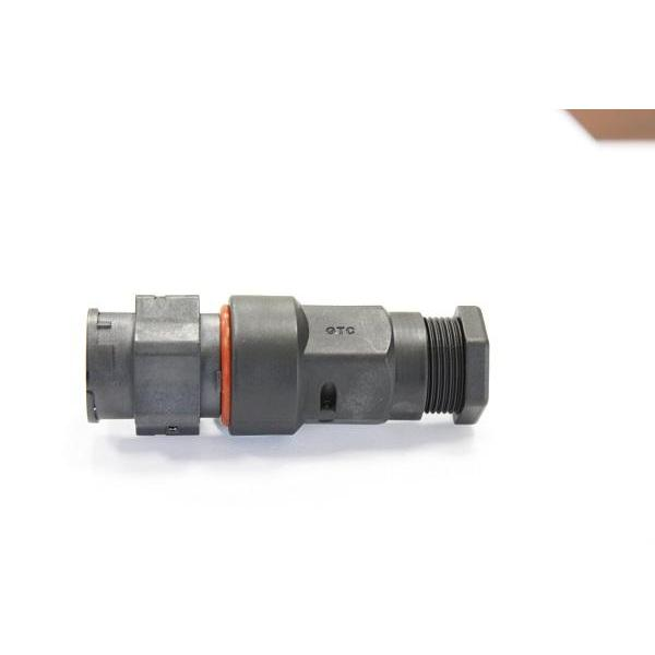 Hybrid C3 25A+1A 2P+3P Field Installable Cable To Cable Female Crimp Lock