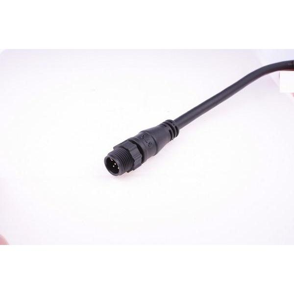 M12 A-Coding Plastic 4A 5P Cable End Male With Cable