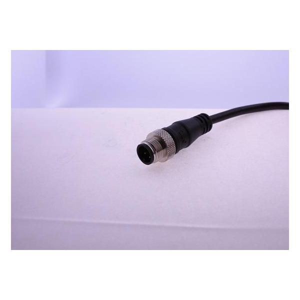 M12 B-Coding 4A 5P Cable End Male