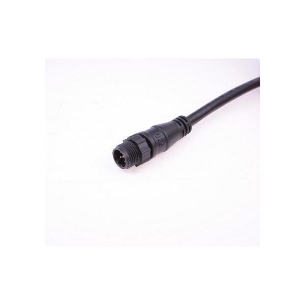 Micro 4A Cable end Female (Over Mold with Cable)M12 D-Coding Plastic 4A 5P Cable End male With UL2725 Cable